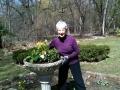 April 2014, Spring center piece in the formal Garden Photo Credit: Frank Caro