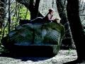 Jo Albrecht's memorial stone