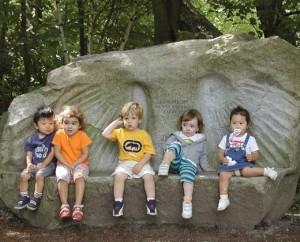 Albrecht's memorial stone bench